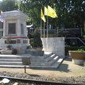 写真:タイ国鉄発祥記念碑