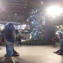 四川北路の新しいショッピングセンターの一つ。ユニクロもあります。