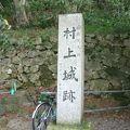 写真:村上城跡