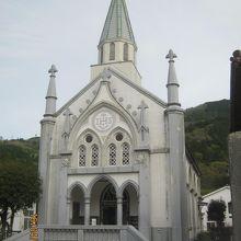 美しい教会でした。
