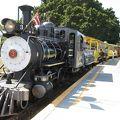 写真:砂糖きび列車