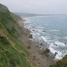 岬からの眺めはいい