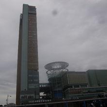 タワーの外観