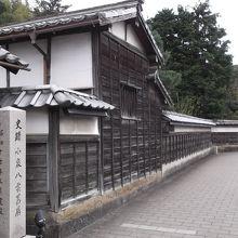 記念館入口�