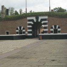 テレジーンの小要塞が強制収容所として使われました。