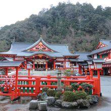 稲成神社に到着