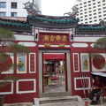 写真:ジョホール中華寺院