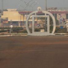 バンギ国際空港と中央アフリカ共...