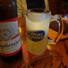 ビールで最初にお腹いっぱいになったツケが、後からジワジワ(笑