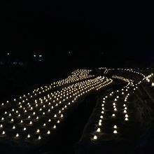 日本夜景遺産認定のミニかまくらのライトアップが素敵でした!
