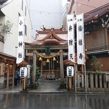 ひっそり こじんまりとした神社。