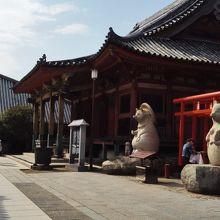 屋島寺といえば狸、だそうです。