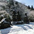 写真:元箱根石仏群