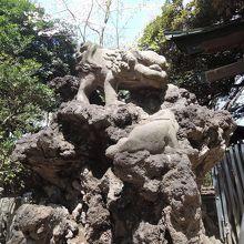 獅子は子をセンジンノ谷に落とす