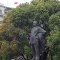 写真:陳毅の銅像