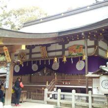坂の上の神社
