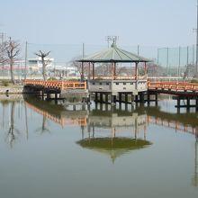 桑名城跡の公園