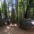 写真:酒船石