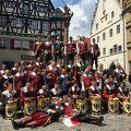 写真:マイスタートルンクの祭り