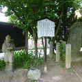 写真:知立神社 芭蕉の句碑