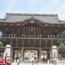 新勝寺の入口です!