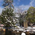 写真:桜島爆発記念碑