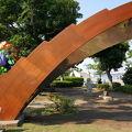 写真:日本ブラジル修好100周年記念碑