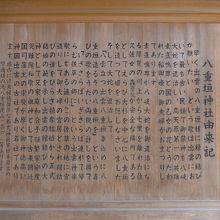 八重垣神社の由来