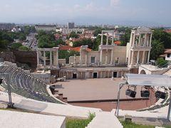 ローマの円形劇場跡