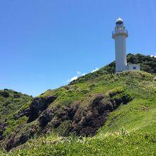 岬と灯台です。