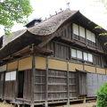 写真:田麦俣の多層民家(旧渋谷家住宅)