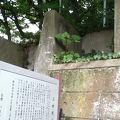 写真:三田用水路跡
