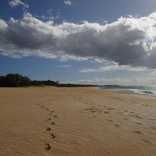 ハワイ州最大のビーチ