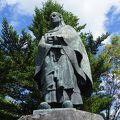 写真:天海大僧正の像