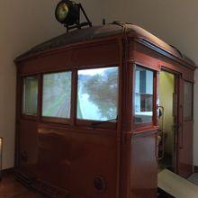 電車のカットボディ