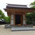 写真:亀山上皇尊像奉安殿