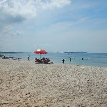 セレンディピティビーチの隣のビーチ