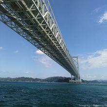 海峡と大鳴門橋、マッチしています