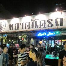 タイ語で市場の名称です
