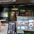 写真:ギブ アンド ギフト カフェ