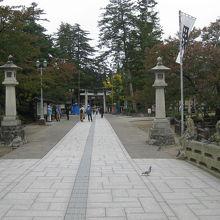上杉神社表参道