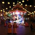 写真:南京町広場のあづまや