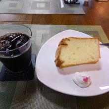 シフォンケーキのおいしいカフェ