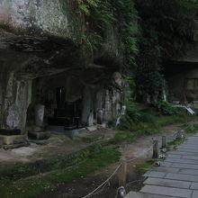 円通院洞窟群