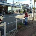 写真:忍者ハットリくんロード (氷見市比美町商店街)