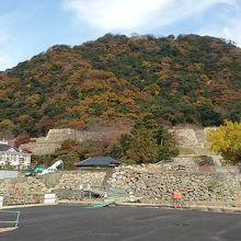 戦国時代の山城と江戸時代の山麓の城の複合