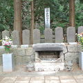 写真:白虎隊の墓