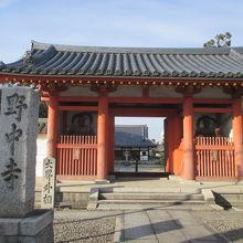 古いお寺です