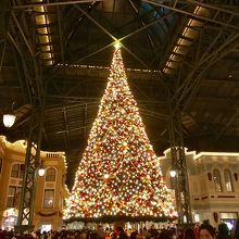 クリスマスツリーが綺麗