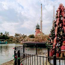 ケープコッドのクリスマス風景
